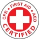 CPR First Aid AED Certified Brandon Byrge