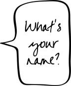 What's Your Name? Life Lessons Brandon Byrge Brandon D. Byrge